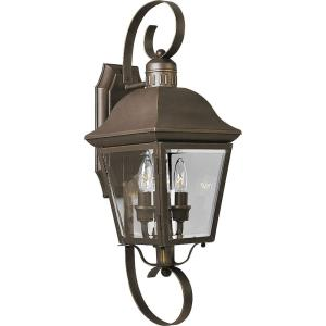 Andover - Outdoor Light - 2 Light in Coastal style - 7.5 Inches wide by 21.25 Inches high