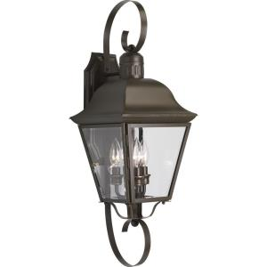 Andover - Outdoor Light - 3 Light in Coastal style - 9 Inches wide by 26 Inches high
