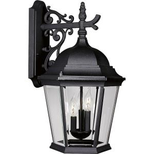 Welbourne - 22.1875 Inch Height - Outdoor Light - 3 Light - Line Voltage - Wet Rated