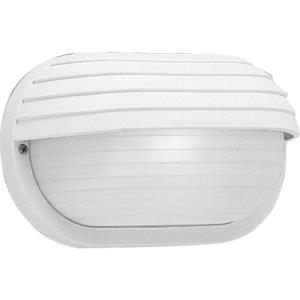 Bulkheads - Outdoor Light - 1 Light - Oval Shade in Coastal style - 10.5 Inches wide by 5.88 Inches high