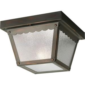 Ceiling Mount - Outdoor Light - 1 Light in Traditional style - 7.5 Inches wide by 5.13 Inches high
