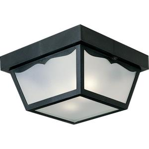 Ceiling Mount - Outdoor Light - 2 Light in Traditional style - 10.25 Inches wide by 5.5 Inches high