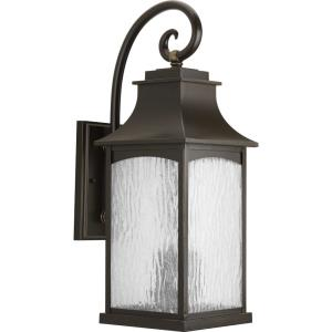 Maison - Outdoor Light - 3 Light in Farmhouse style - 8.5 Inches wide by 23.75 Inches high