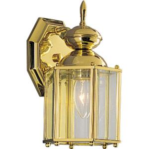 BrassGUARD Lantern - Outdoor Light - 1 Light in Traditional style - 5.38 Inches wide by 10.25 Inches high