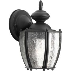 Roman Coach - Outdoor Light - 1 Light - Curved Panels Shade in Traditional style - 6 Inches wide by 9.75 Inches high