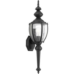 Roman Coach - 19.25 Inch Height - Outdoor Light - 1 Light - Curved Panels Shade - Line Voltage - Wet Rated
