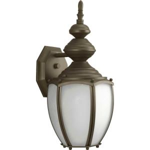 Roman Coach - 1 Light Outdoor Wall Lantern in Traditional style - 7 Inches wide by 15.38 Inches high