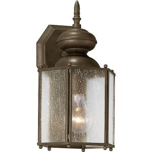 Roman Coach - Outdoor Light - 1 Light in Traditional style - 7 Inches wide by 12.5 Inches high