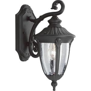 Meridian - Outdoor Light - 1 Light - Urn Shade in New Traditional style - 6.75 Inches wide by 14.88 Inches high