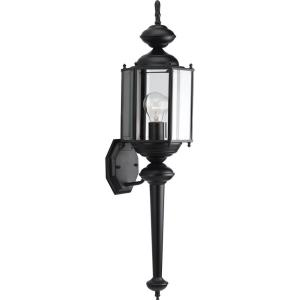 BrassGUARD Lantern - Outdoor Light - 1 Light in Traditional style - 7 Inches wide by 28.5 Inches high