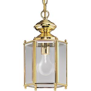 One Light Outdoor Hanging Lantern
