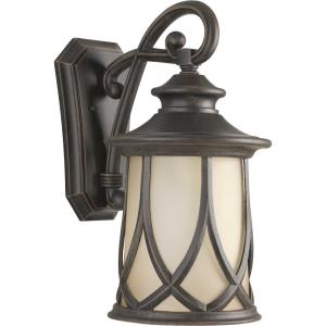Resort - Outdoor Light - 1 Light in Modern Craftsman and Rustic and Transitional style - 10.5 Inches wide by 19.75 Inches high