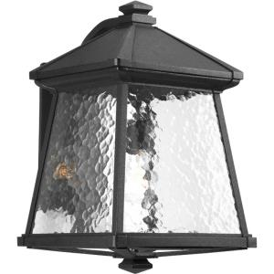 Mac - Outdoor Light - 1 Light in Modern Craftsman and Rustic and Transitional style - 11 Inches wide by 16.5 Inches high