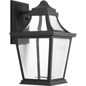 Endorse LED - Outdoor Light - 1 Light - Beveled Shade in New Traditional and Transitional style - 8.75 Inches wide by 14.75 Inches high