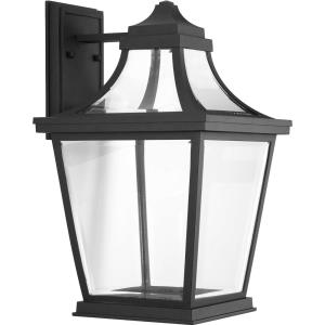 Endorse LED - Outdoor Light - 1 Light - Beveled Shade in New Traditional and Transitional style - 10.75 Inches wide by 17.75 Inches high