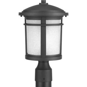 Wish LED - Outdoor Light - 1 Light - Cylinder Shade in Modern Craftsman and Transitional style - 9 Inches wide by 14.81 Inches high