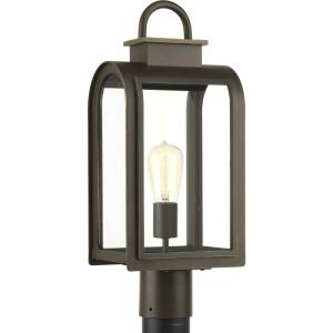 Refuge - One Light Outdoor Post Lantern