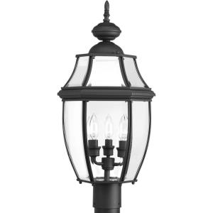 New Haven - Three Light Outdoor Post Lantern