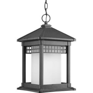 Merit - 16.9375 Inch Height - Outdoor Light - 1 Light - Cylinder Shade - Line Voltage - Damp Rated