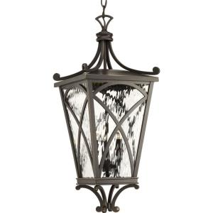 Cadence - Outdoor Light - 3 Light in Luxe and New Traditional and Transitional style - 10 Inches wide by 24 Inches high