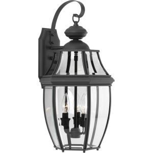 New Haven - Outdoor Light - 3 Light in New Traditional and Transitional and Traditional style - 11 Inches wide by 21.88 Inches high