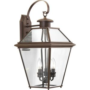 Burlington - Three Light Outdoor Large Wall Lantern