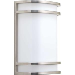 LED Sconce - 10.625 Inch Height - Wall Sconces Light - 1 Light - Line Voltage - Damp Rated