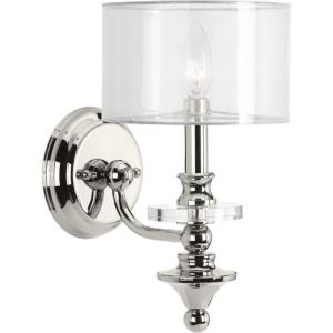 Marche - 12.25 Inch Height - Wall Sconces Light - 1 Light - Line Voltage - Damp Rated