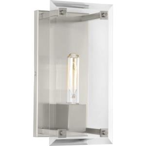 Hobbs - Wall Sconces Light - 1 Light - Beveled Shade in Farmhouse style - 6 Inches wide by 12 Inches high