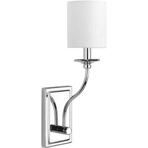 Bonita - Wall Sconces Light - 1 Light in Luxe and New Traditional and Transitional style - 4.5 Inches wide by 17.13 Inches high