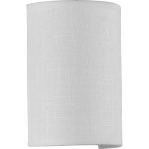 Inspire LED - 9 Inch Height - Wall Sconces Light - 1 Light - Half Cylinder Shade - Line Voltage - Damp Rated