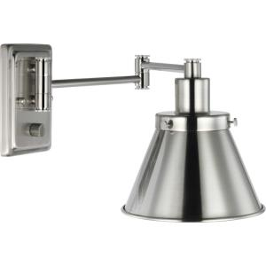 Hinton - Wall Brackets Light - 1 Light - Cone Shade in Coastal style - 8.25 Inches wide by 9.63 Inches high