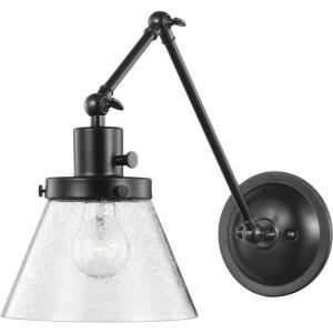 Hinton - 14.375 Inch Height - Wall Brackets Light - 1 Light - Cone Shade - Line Voltage - Damp Rated