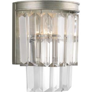 Glimmer - 10 Inch Height - Wall Sconces Light - 2 Light - Line Voltage - Damp Rated