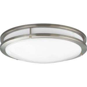 LED CTC COMM - 3.75 Inch Height - Close-to-Ceiling Light - 1 Light - Line Voltage - Damp Rated