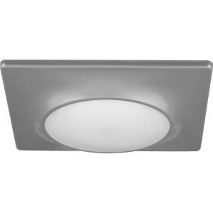 7.25 Inch 17W 1 LED Square Flush Mount