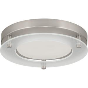 LED Flush Mount - 2.75 Inch Height - Close-to-Ceiling Light - 1 Light - Line Voltage - Wet Rated