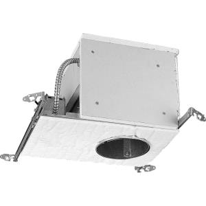 Recessed Housing - 13 Inch Width - 1 Light - Line Voltage - Damp Rated
