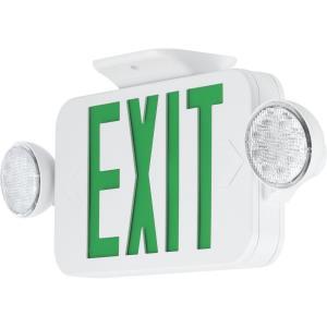 "PECUE - 18"" 3.22W LED Combination Exit/Light"