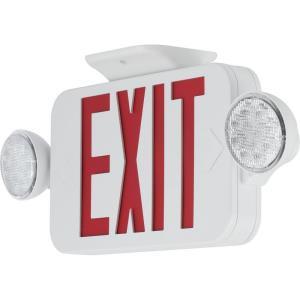 "PECUE - 18"" 4.12W LED Combination Exit/Light"