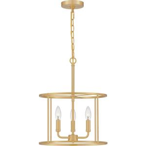 Abner - 3 Light Pendant in Transitional style - 14 Inches wide by 18 Inches high