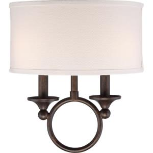 Adams - 2 Light Small Wall Sconce - 13.5 Inches high