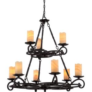Armelle - 9 Light 2-Tier Chandelier