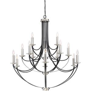 Alana - 15 Light 3-Tier Large Chandelier