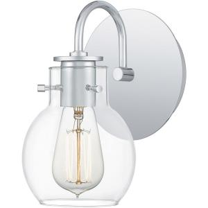 Andrews - 1 Light Small Wall Sconce in Transitional style - 6 Inches wide by 9 Inches high