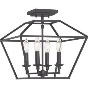 Aviary - Four Light Semi-Flush Mount