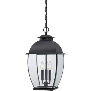 Bain - 3 Light Outdoor Hanging Lantern - 20.5 Inches high