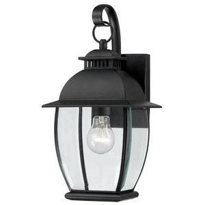 Bain 15 Inch Outdoor Wall Lantern Transitional Brass