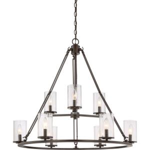 Buchanan - 9 Light Extra Large 2-Tier Foyer