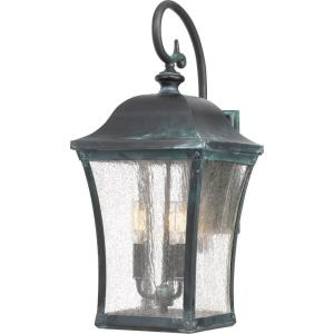 Bardstown 22.5 Inch Outdoor Wall Lantern Traditional Brass Approved for Wet Locations - 22.5 Inches high